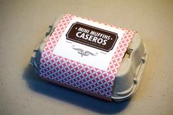 Mini Muffins Caseros en huevera