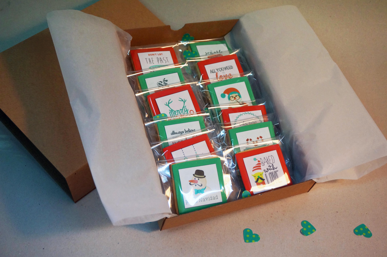 Galletas Navidad Cajita L