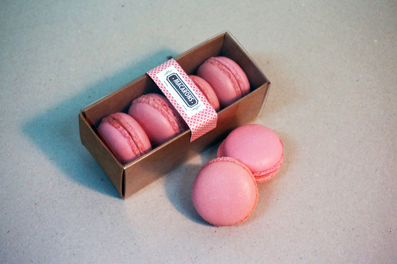 Macarons 4 unidades