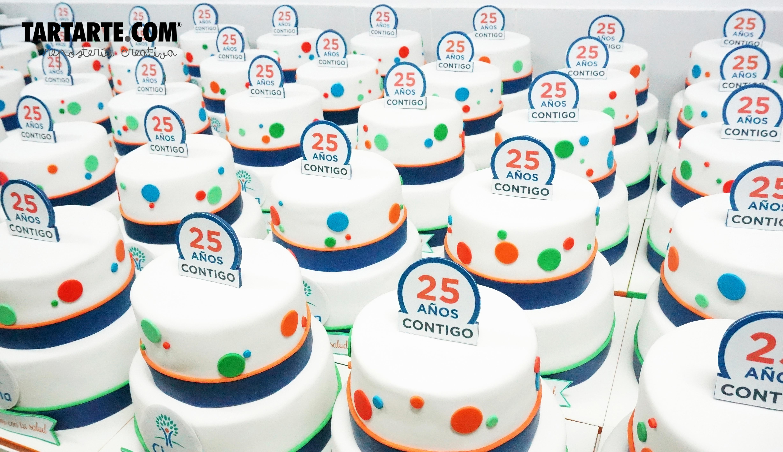 tartas corporativas Cigna 25 Años