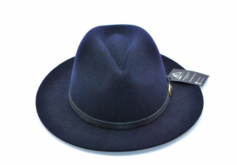Classy Felt Hat -Blue