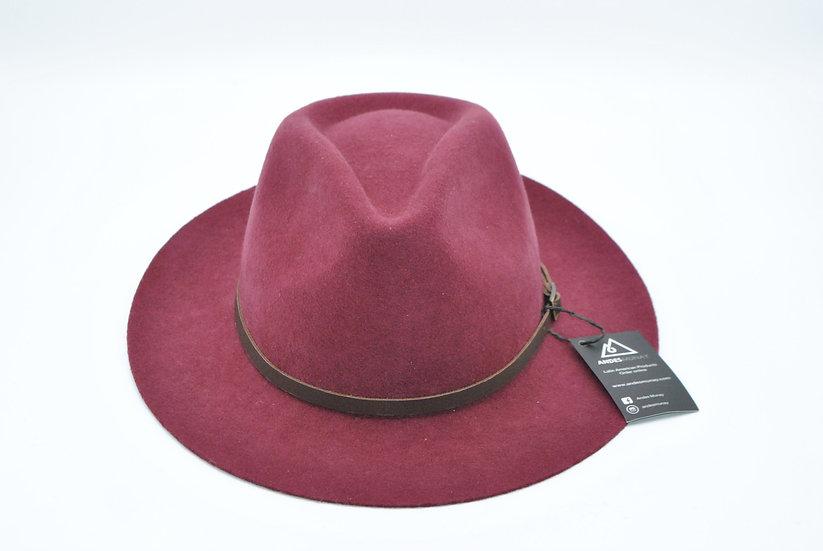 Dulcet Felt Hat -Burgandy