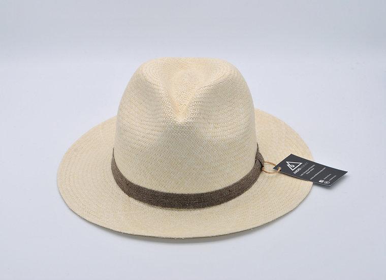 Panama Hat - Classy Semi White (B)
