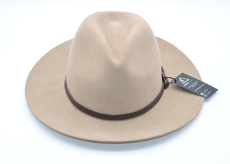 Classy Felt Hat -Beige