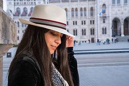 Panama hat for girls