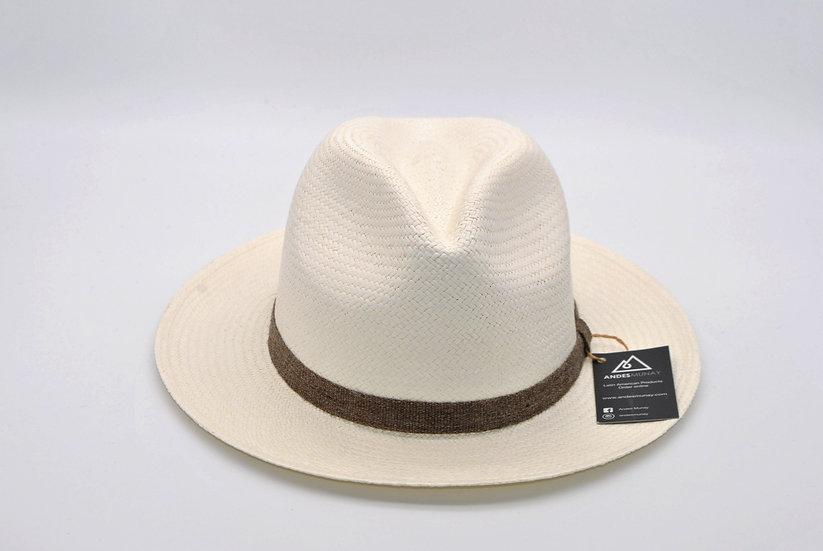 Panama Hat - Classy White (B)