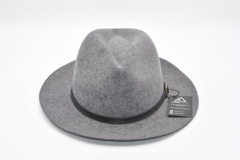 Classy Felt Hat - Gray