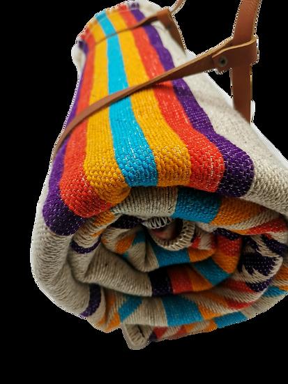 "Woven blanket ""Inkil"""