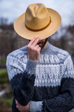 Panama hat tabacco colour