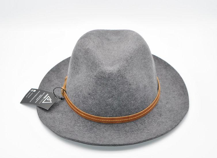 Ravel Felt Hat - Gray