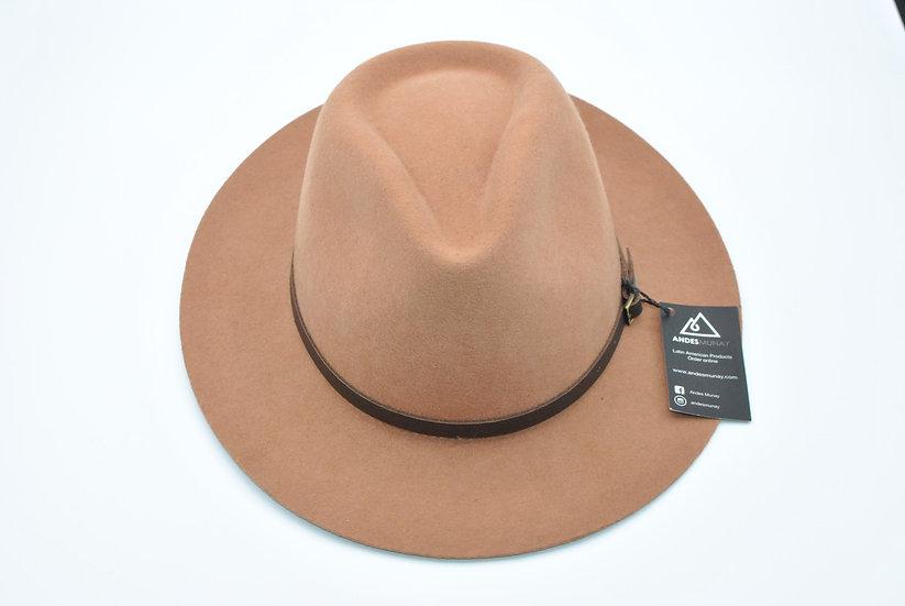 Dulcet Felt Hat -Brown