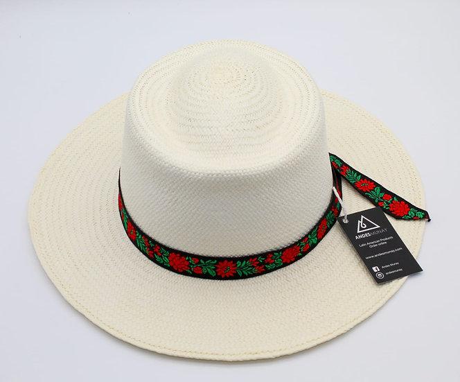 Panama Hat - Flowers