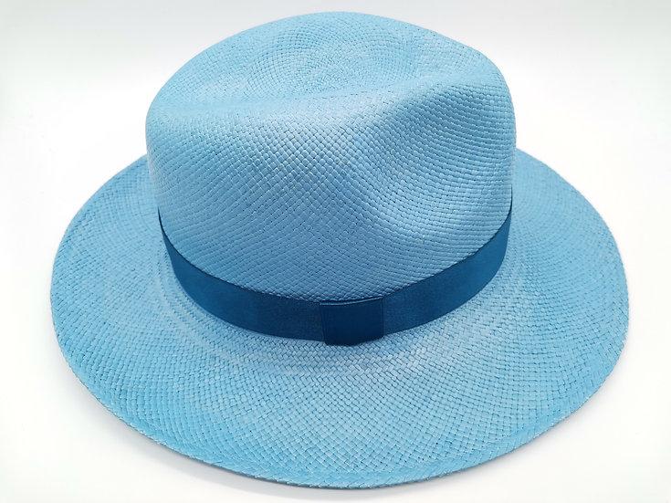Panama Hat - Sky blue