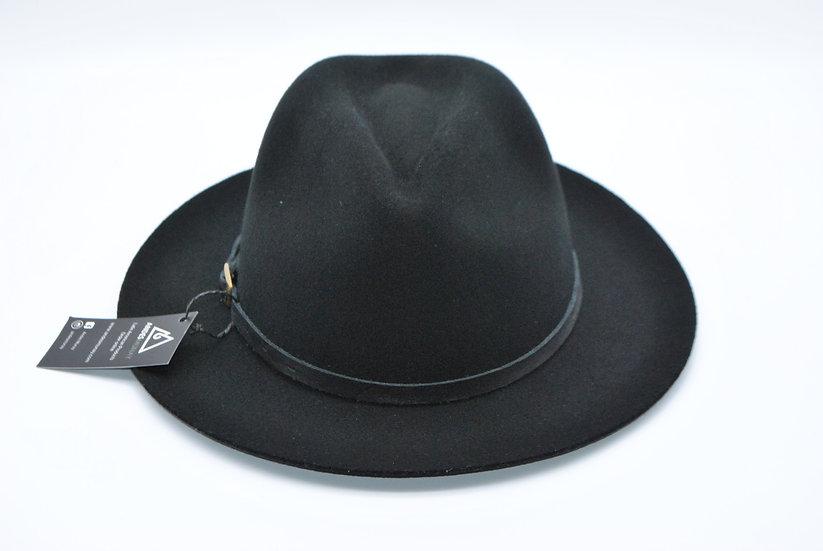 Classy Felt Hat -Black