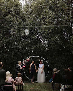 ✨ Love under the festoons ✨  Intimate an