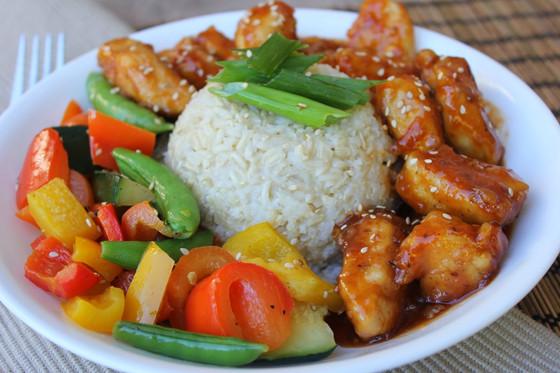 Orange Stir-Fry Chicken