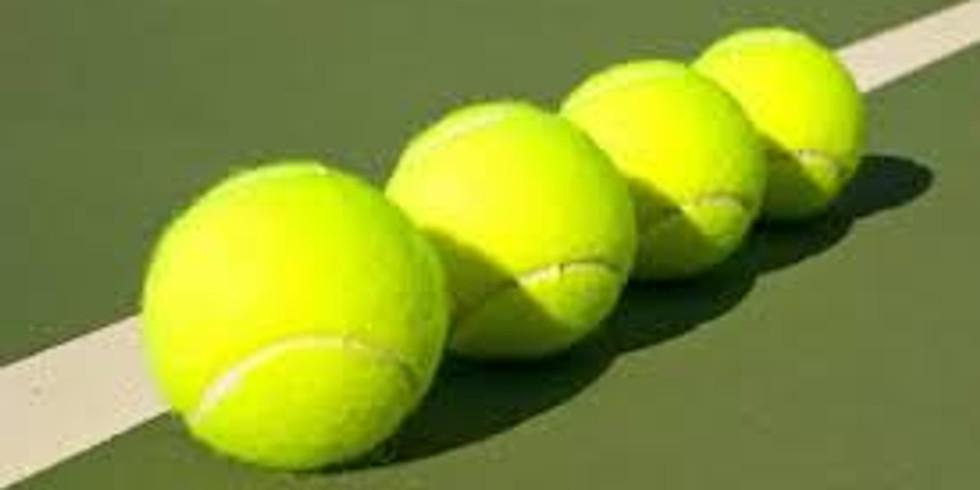 High School Tennis Training - Wednesday July 21st