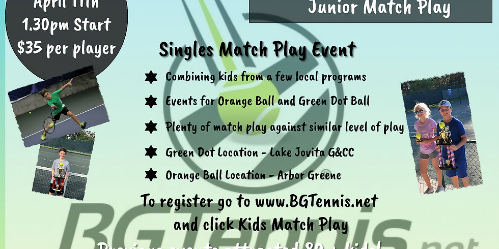 Green Dot Ball Match Play - Sunday April 11th (1)