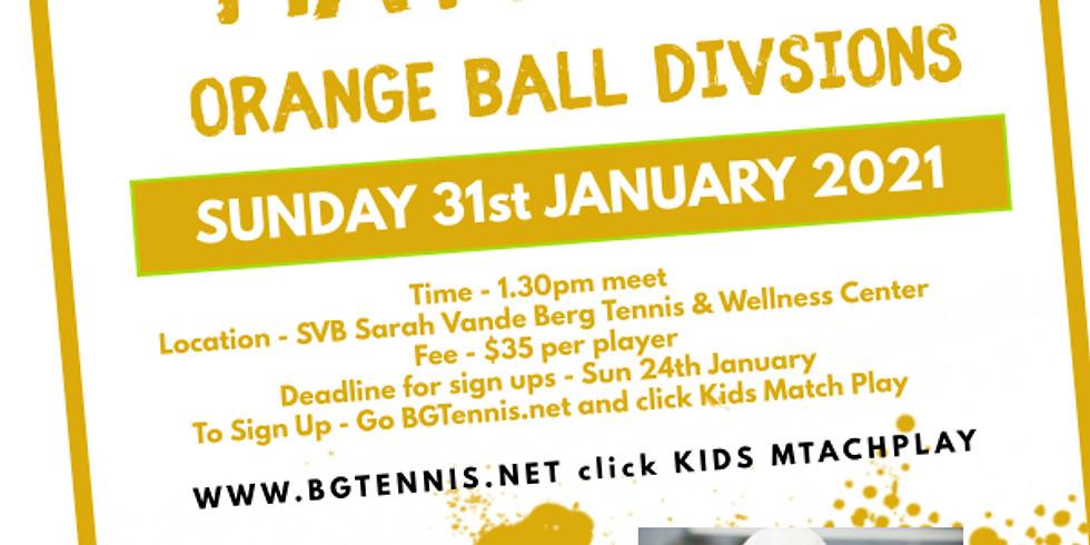 Orange Ball Events - Jan 31st 2021