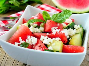 Cucumber, Feta and Watermelon Salad: A Taste of Israel