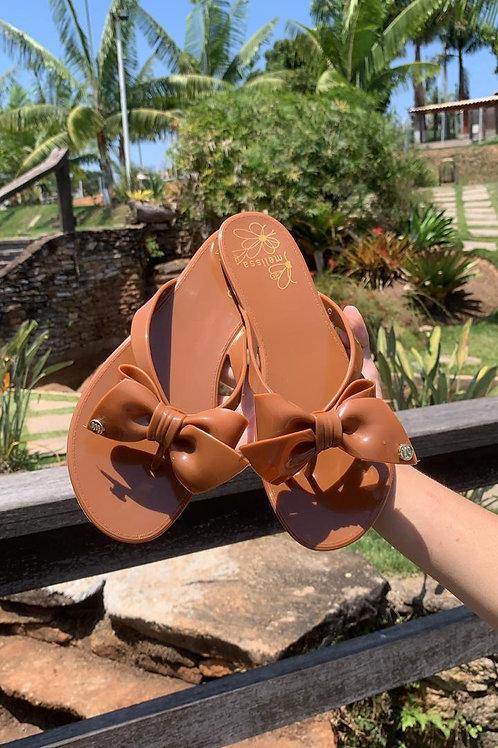 Sandálias Melissa laço