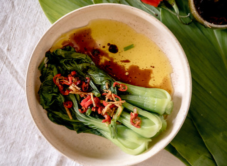 Warm Pak Choi Salad