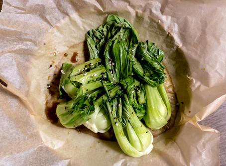 Roasted Sesame Pak Choi
