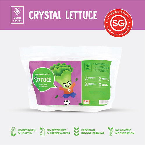 Hey Healthy, I'm Crystal Lettuce