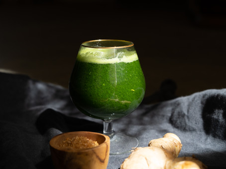 Kale & Ginger Daiquiri
