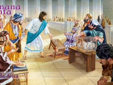 A Expulsão dos Vendilhões do Templo e a Purificação Pascal