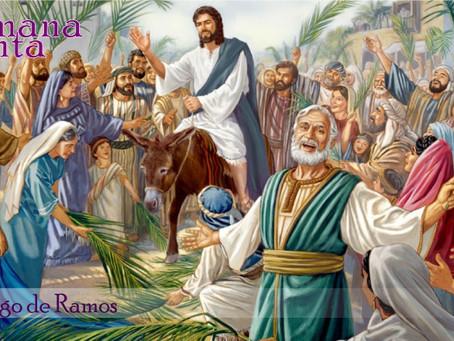 Domingo de Ramos e a Espiritualidade Inaciana