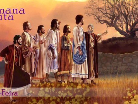 Glorificação e o novo mandamento: tudo passa pelo amor
