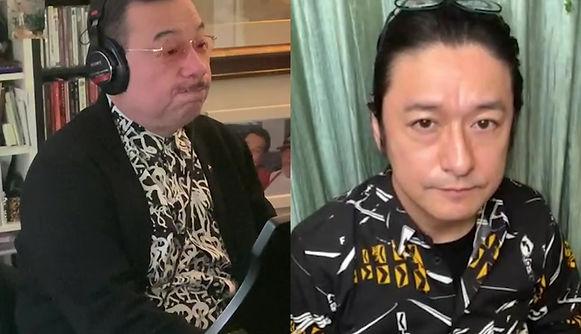 石丸氏とおうちでセッション