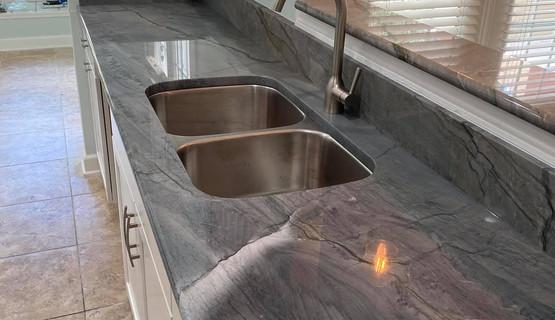 Ocean Blue Quatzite - Best Designer Countertops of Savannah