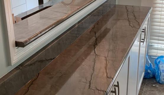 Ocen Blue Quartzite - Best Designer Countertop
