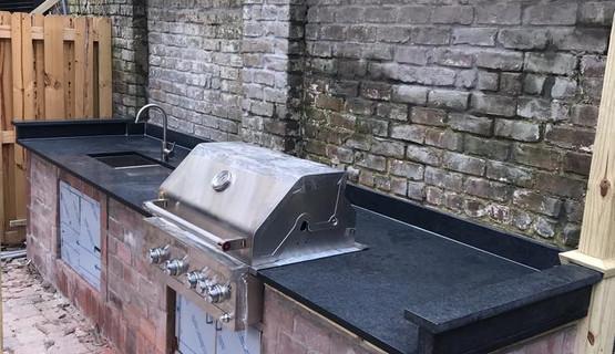 Black San Grabriel Granite - Best Designer Countertops of Savannah