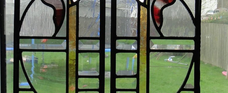 stained glass bevel for doors
