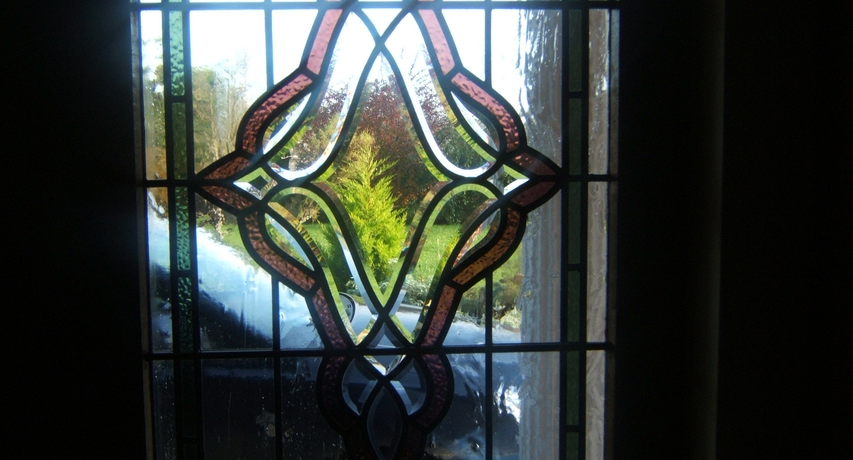 stained glass bevel