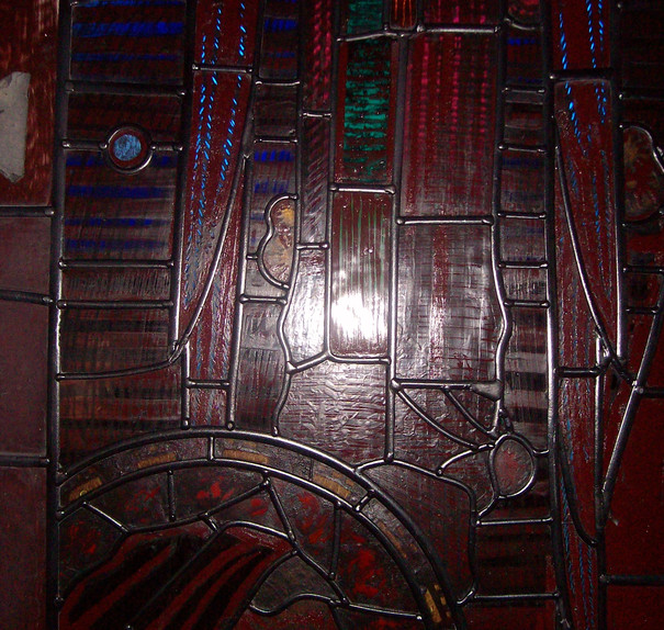 Harry Clarke window after conservation