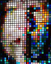 contemporary stained glass shipped to London, New York, San Francisco and worldwide