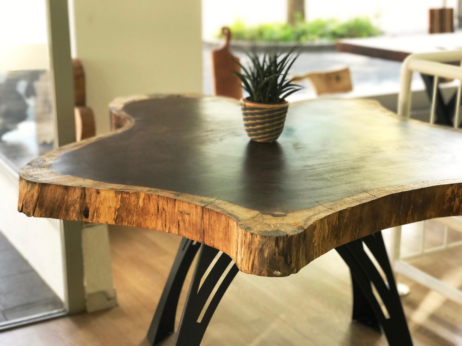 Aufregend Baumscheibe Tisch Bild Von Wohndesign Dekoration