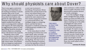Why should physicists care about Dover?