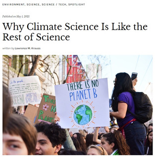 Why Climate Science is Like the Rest of Science