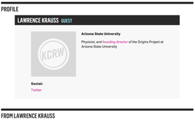KCRW: To the Point