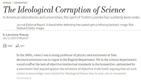 The Ideological Corruption of Science