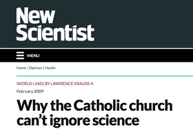 Why the Catholic church can't ignore science