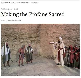 Making the Profane Sacred: Quillette