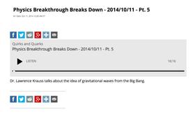 Physics Breakthrough Breaks Down