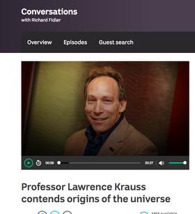 Professor Lawrence Krauss contends origins of the universe