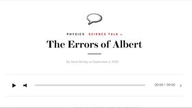 The Errors of Albert